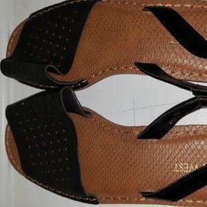 Nine West Black Sandals
